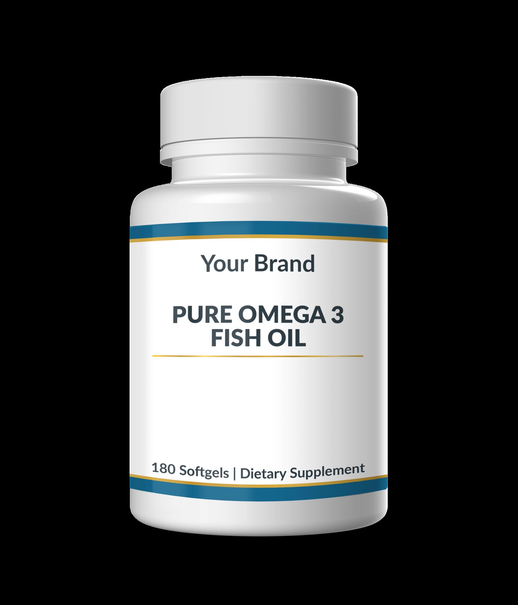 Pure Omega 3 Fish Oil The Lab Genie